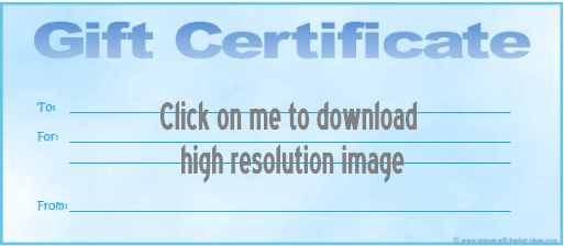 printable gift certificate 10