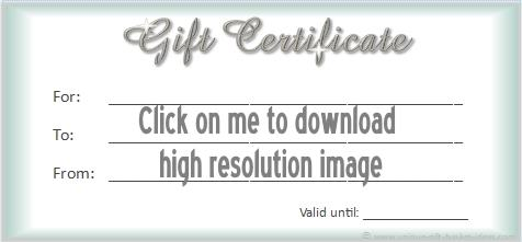 printable gift certificate 1