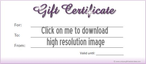 printable gift certificate 2