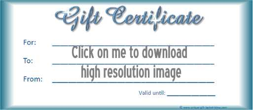 printable gift certificate 3
