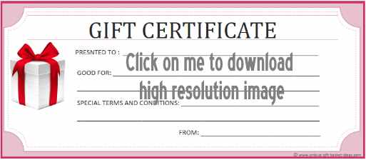 printable gift certificate 7