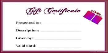 blank gift certificate 1