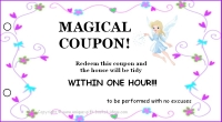 Mom coupon book - magical coupon