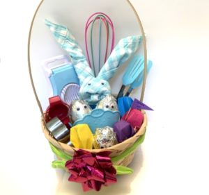 easter gift basket- all about eggs